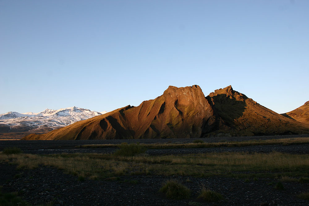 Thorsmörk Glacier Valley