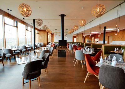 Restaurant at Fosshotel Myvatn