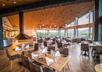Restaurant at Hotel Husafell
