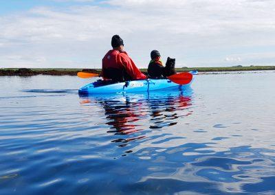 Kayak tour near Stokkseyri village