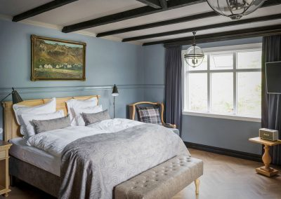 Grand double room at Skalakot Manor Hotel