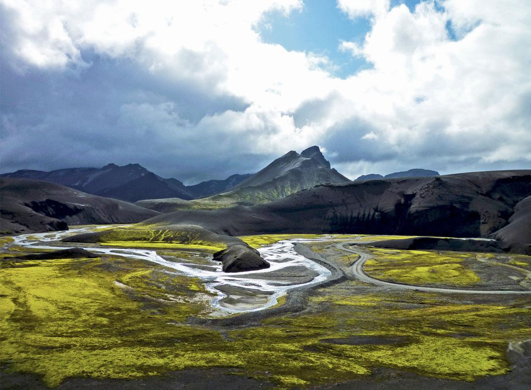 Fjallabak Highlands in Iceland
