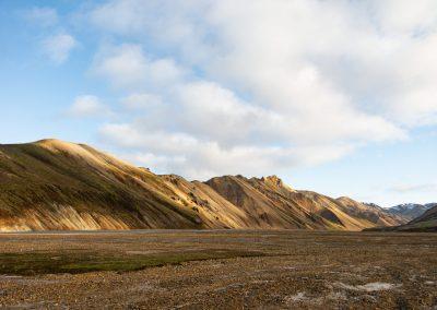 Mountains in Landmannalaugar Highlands