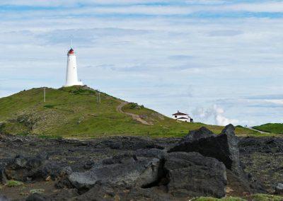 Lightouse in Reykjanes Iceland