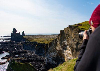 Londrangar Cliffs Snæfesllsnes Peninsula Iceland