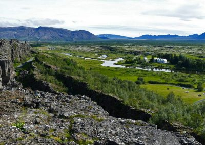 Overview of Þingvellir National Park