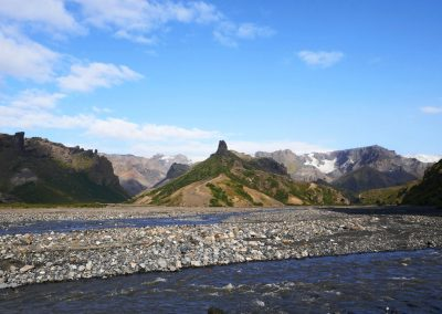 Senenry in Thorsmork Nature Reserve