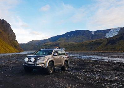 Landcruiser in Þórsmörk Iceland