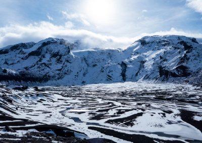 Thorsmork Glacier Valley
